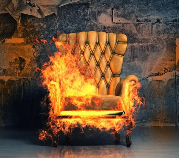 افزایش مقاومت به آتش فوم پلی یورتان با مواد کندسوز
